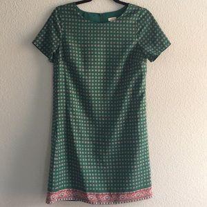 J. Crew Green Dress